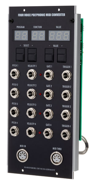 Marienberg Devices Four Voice Poly MIDI Converter
