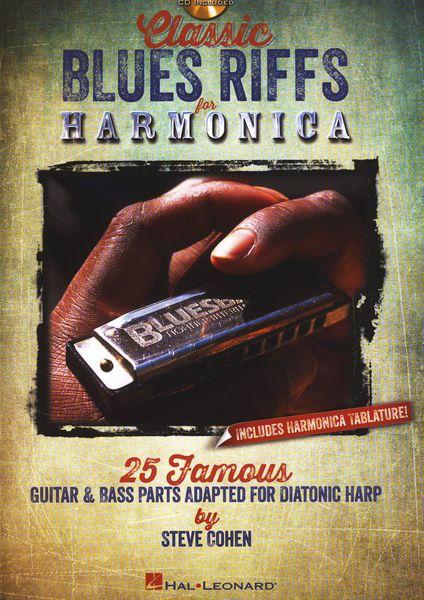 Hal Leonard Classic Blues Riffs Harmonica