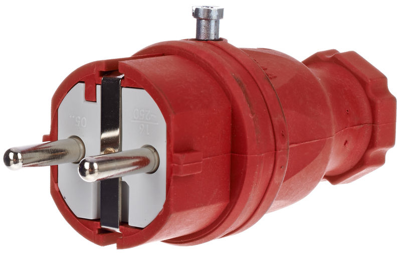Stairville Rubber Plug EU / Red