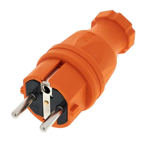 PCE Rubber Safety Plug EU Or