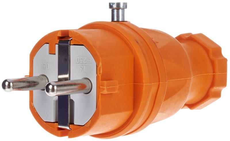 Stairville Rubber Plug EU / Orange