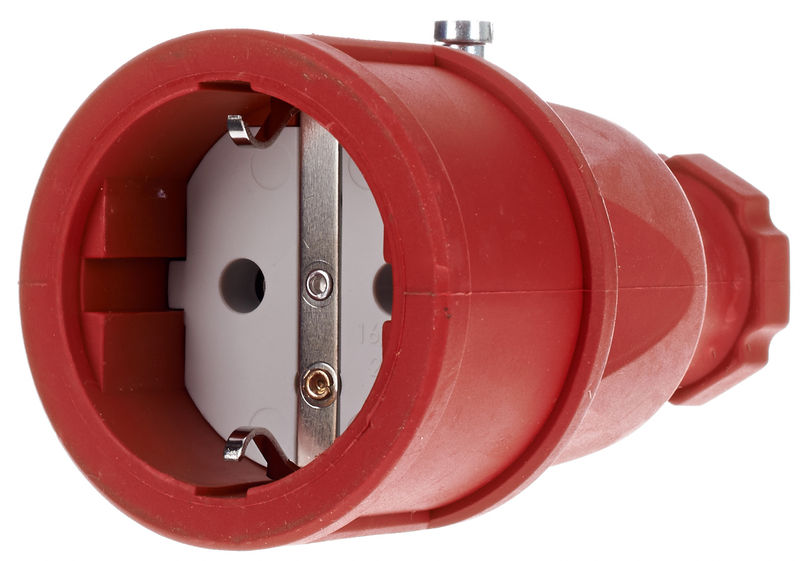 Stairville Rubber Coupling EU / Red