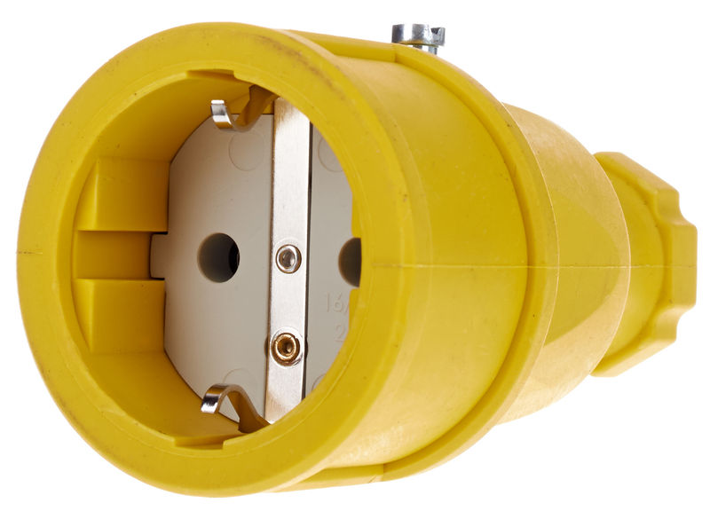 Stairville Rubber Coupling EU / Yellow