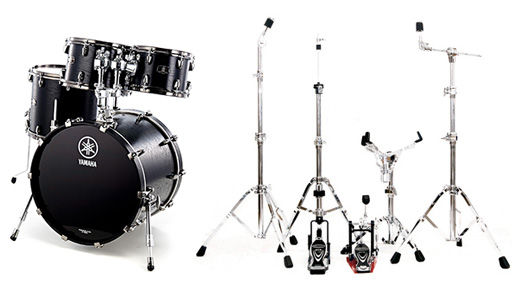 Yamaha Live Custom Set Fusion Bundle