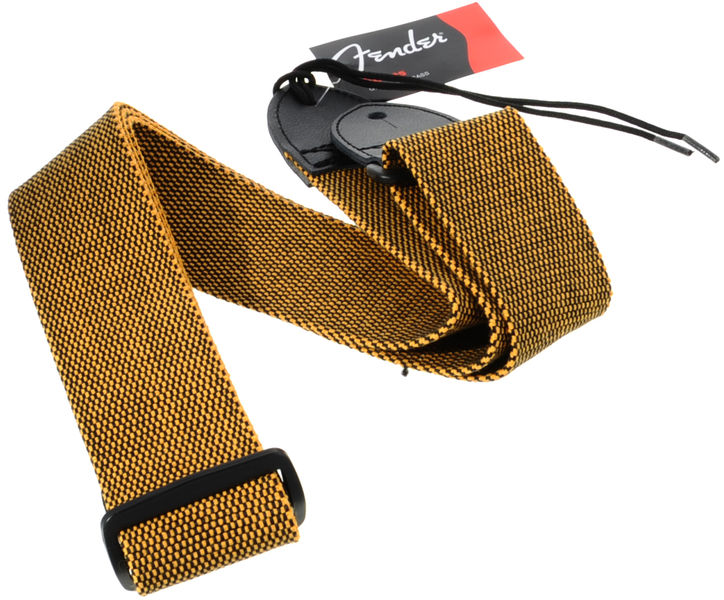 Fender Tweed Cotton Strap Gold