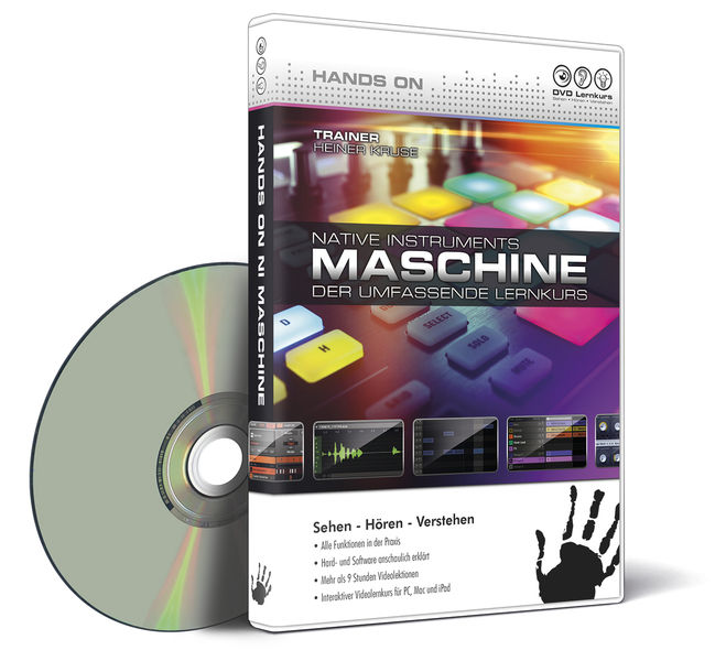 DVD Lernkurs Hands on NI Maschine DVD