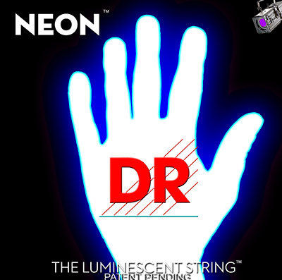 DR Strings HiDef White Neon Electric 9-42