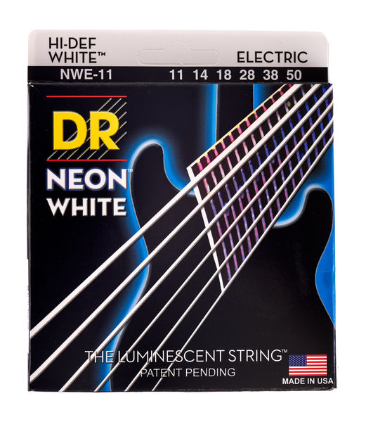 DR Strings HiDef White Neon E 11-50