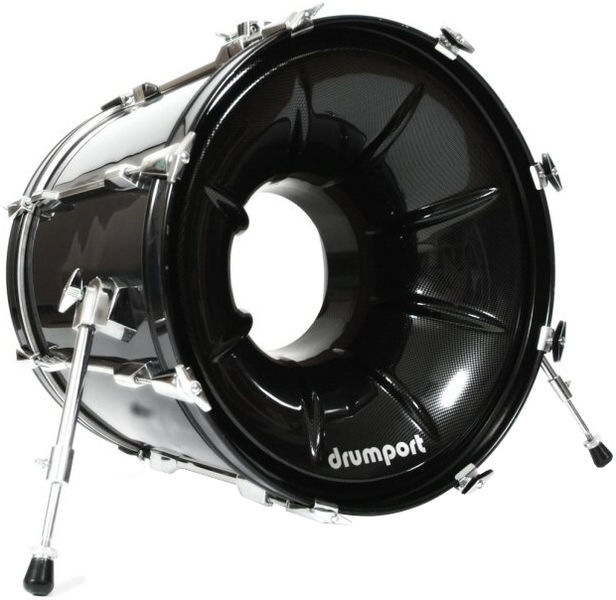 "Drumport 22"" Megaport Booster Carbon"