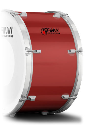 Lefima Cylinder Color Fire Red