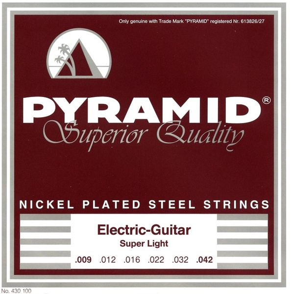 Pyramid Nickel Plated Steel SuperLight