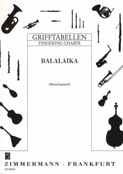 Zimmermann Verlag Fingering Chart Balalaika