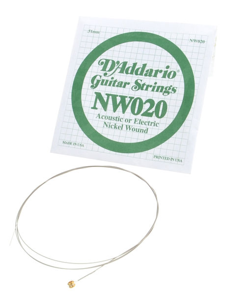 Daddario NW020 Single String