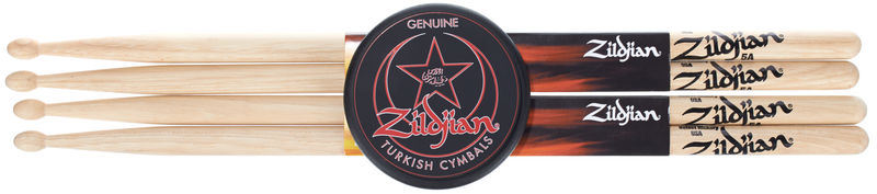 Zildjian 5A Hickory Pack with Puck Pad