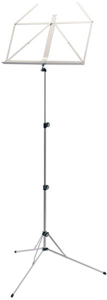 K&M 101 Music Stand Nickel Colored