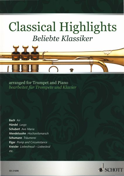 Schott Classical Highlights Trumpet