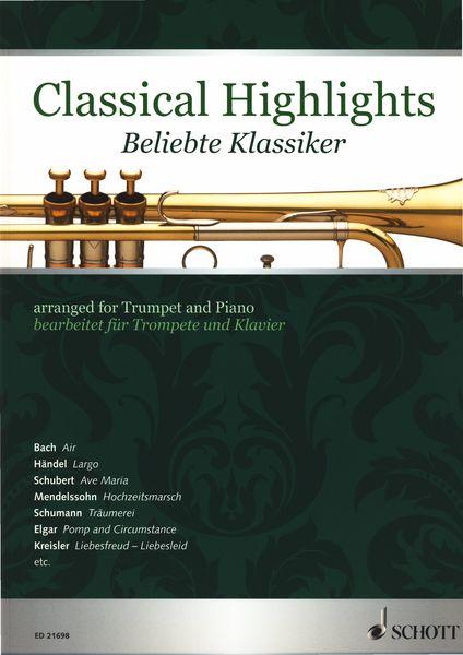Classical Highlights Trumpet Schott
