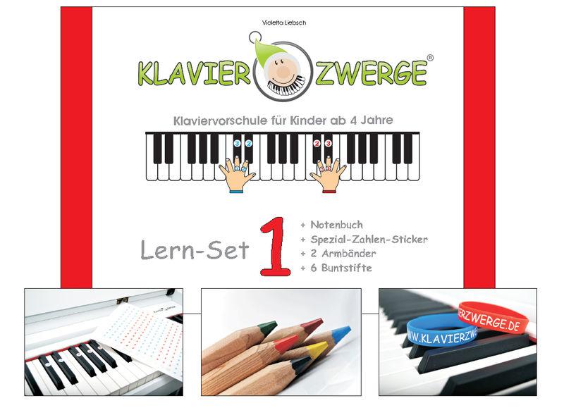 Klavierzwerge Klavierzwerge Lern-Set 1