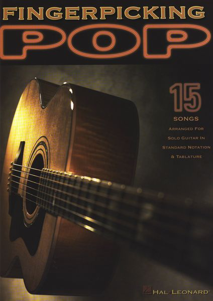 Hal Leonard Fingerpicking Pop f.Solo Guit.