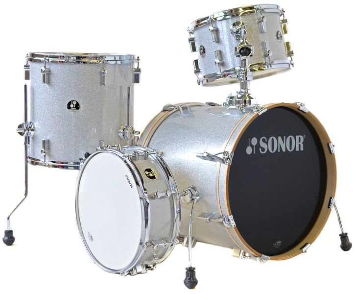 Sonor Bop Shell Set Silver Sparkle