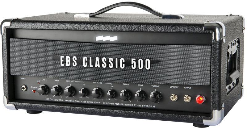 EBS Classic 500 Bass Amp Head