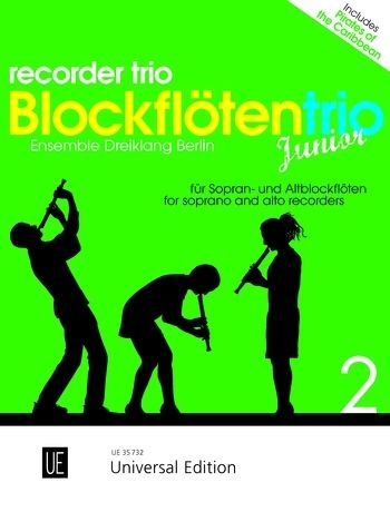 Universal Edition Recorder Trio Junior Vol.2