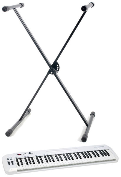 Samson Carbon 61 Stand Bundle