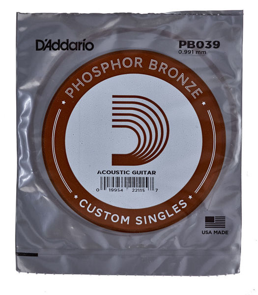 Daddario PB039 Single String