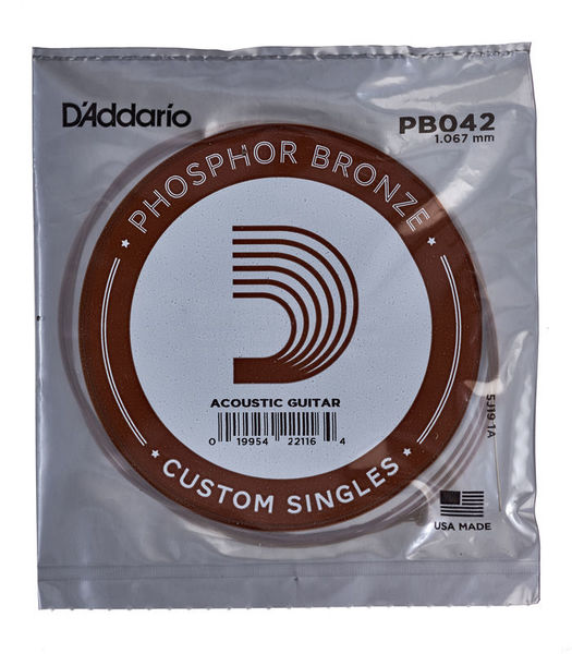 Daddario PB042 Single String