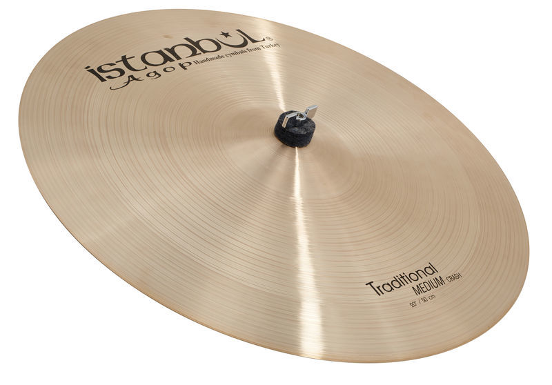 Istanbul Agop Traditional Crash Medium 20""