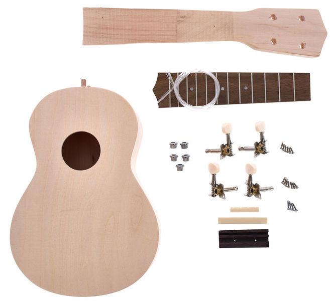 Harley benton ukulele diy kit thomann ellda harley benton ukulele diy kit solutioingenieria Images