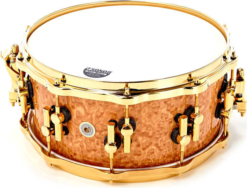 "Sonor SQ2 14""x6,5"" Snare Drum Gold"