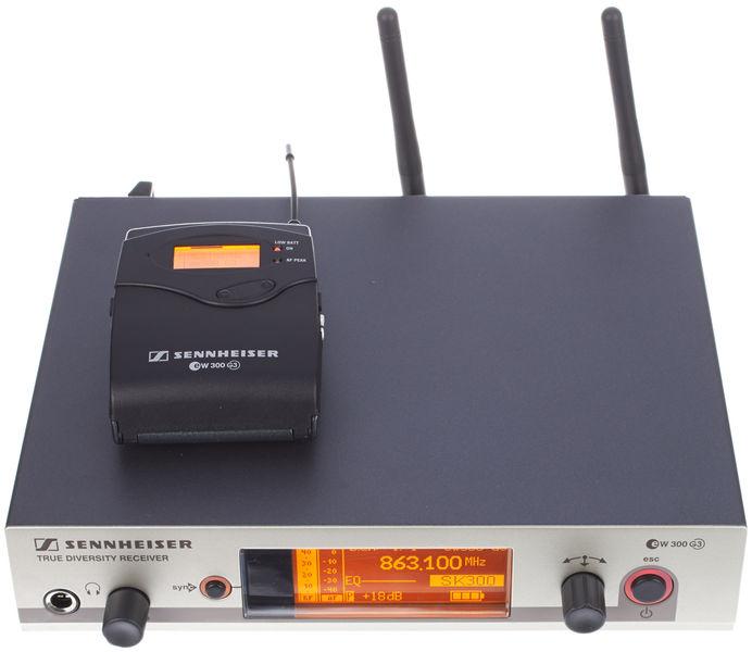Sennheiser Basicset EW 372 G3 / G-Band