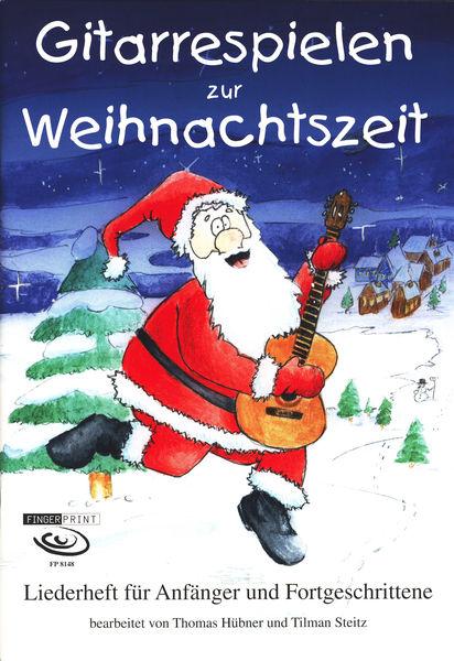 Fingerprint Gitarrespielen zur Weihnacht