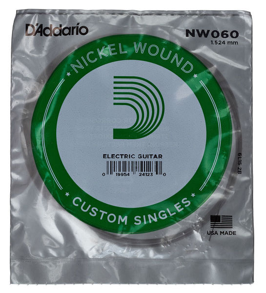 Daddario NW060 Single String