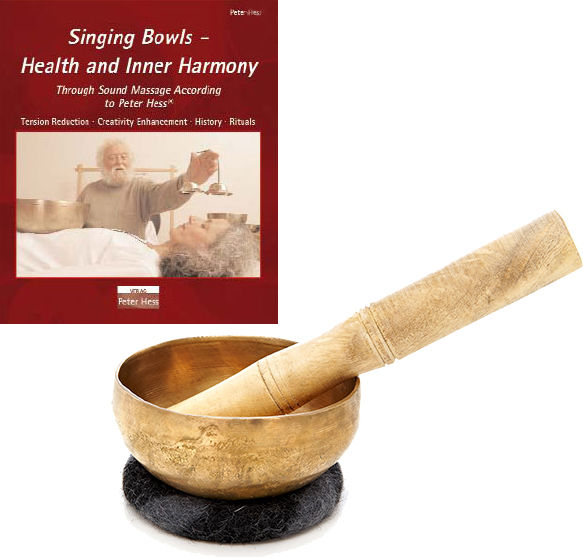 Thomann Singing Bowl 400g + Book