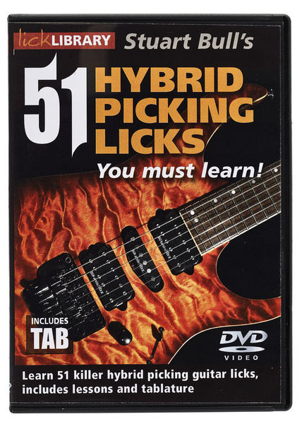 Music Sales 51 Hybrid Picking Licks