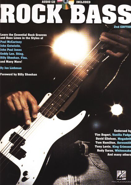 Hal Leonard Rock Bass: 2nd Edition