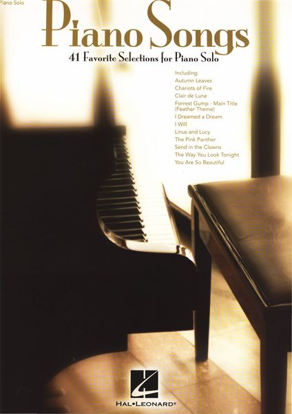 Hal Leonard Piano Songs 41 Favorites