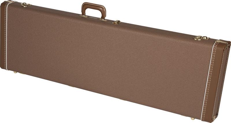 Fender C&G P-Bass Case BR/GD