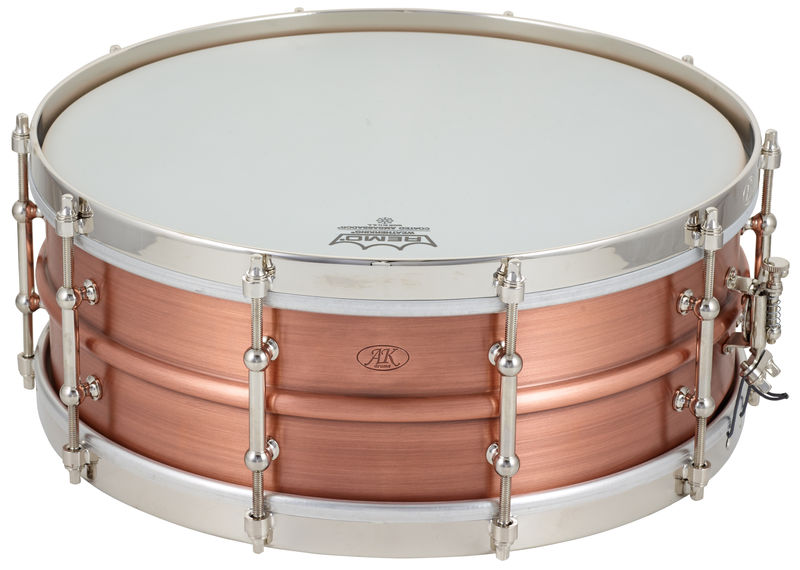 "AK Drums AK Drums 5.25 ""x 14"" Copper St"