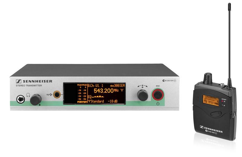 Sennheiser EW 300 IEM G3 / G-Band