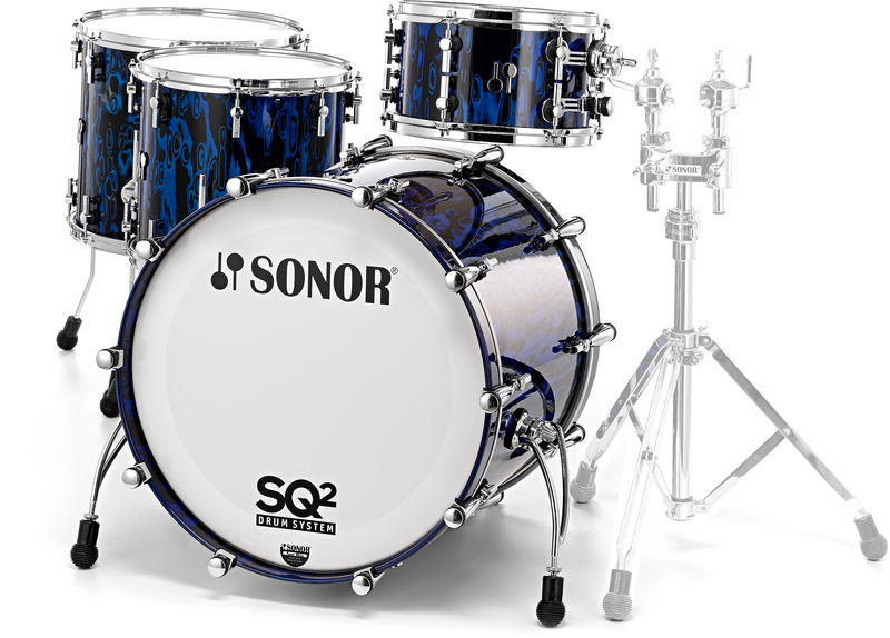 Sonor SQ2 Shell Set Beech BlueTribal