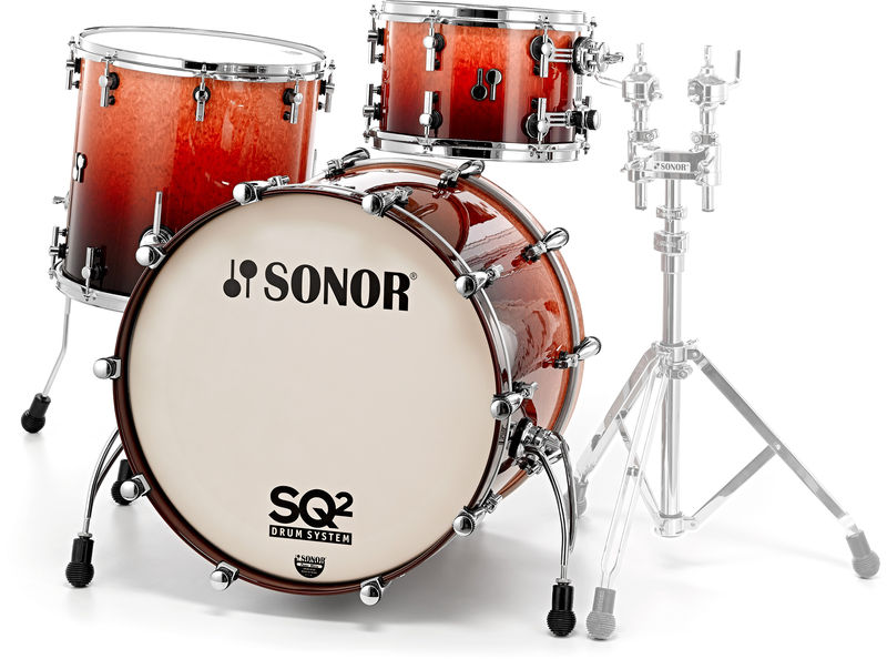 Sonor SQ2 Maple Birdseye Sunburst