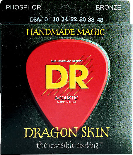 DR Strings Dragon Skin Acoustic 10-48