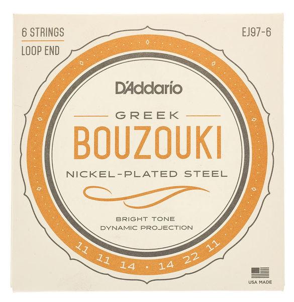 Daddario EJ97-6 Bouzouki Strings