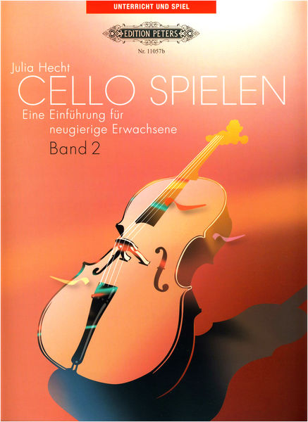 C.F. Peters Cello Spielen Band 2