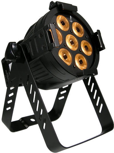 Litecraft Mini PAR AT10 7x10W BK
