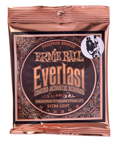 Ernie Ball 2550 Everlast Coated