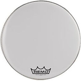 "Remo 16"" Ambassador Smooth White"